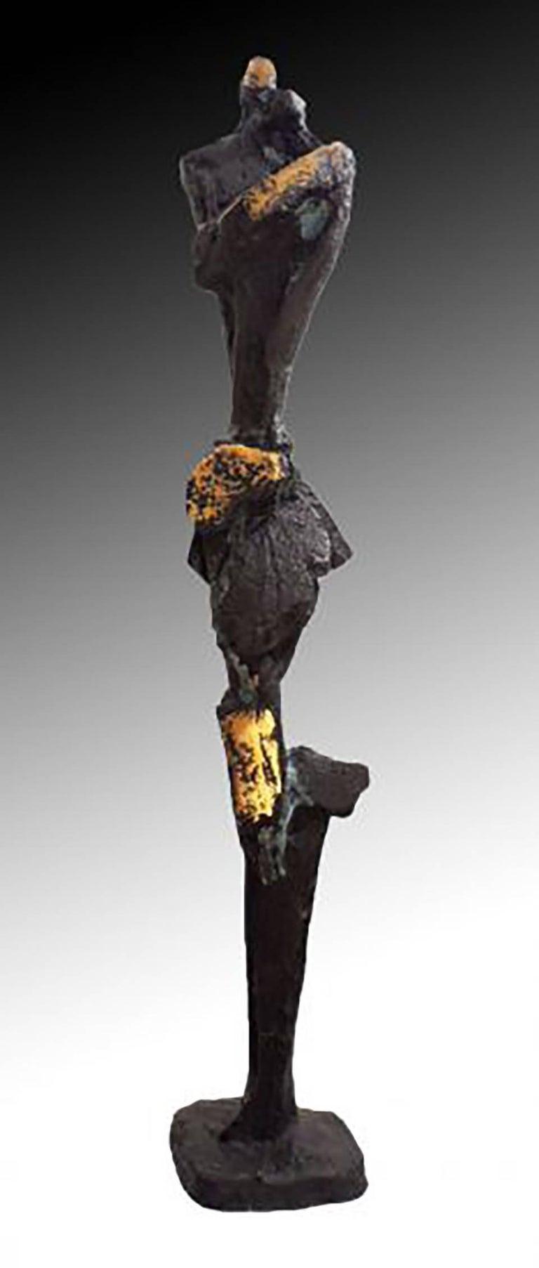 Won Lee Figurative Sculpture - Lovers
