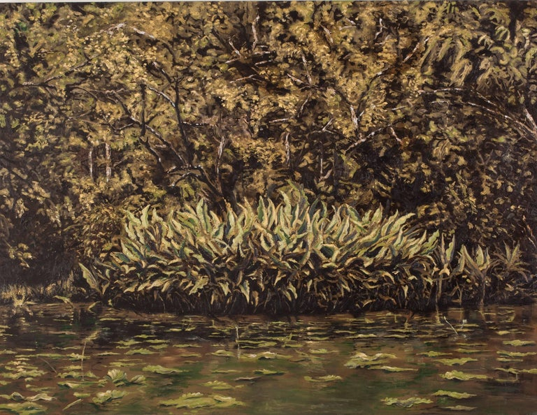 Paul Manes Landscape Painting - Wild Thing