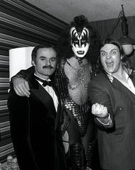 Bill Aucoin, Gene Simmons, Meat Loaf