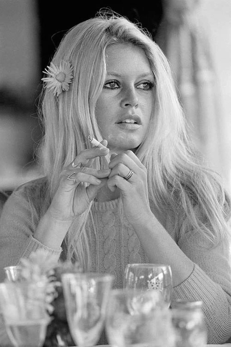 Terry O'Neill Portrait Photograph - Bardot in Deauville, 1968