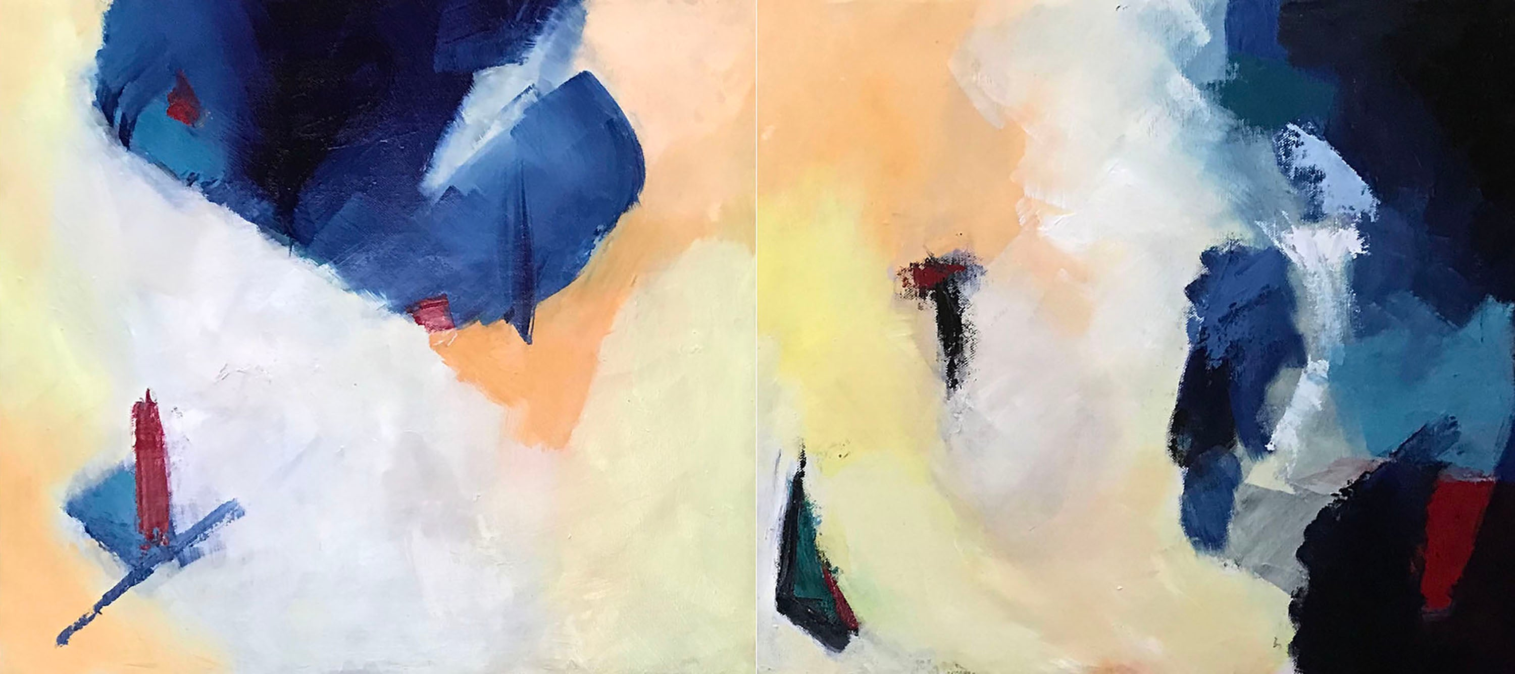 EQUILIBRIO diptych