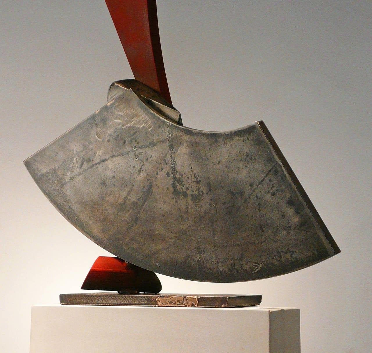 Soft Landing - Abstract Sculpture by John Van Alstine