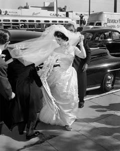 Elizabeth Taylor (Wedding Day 1950)