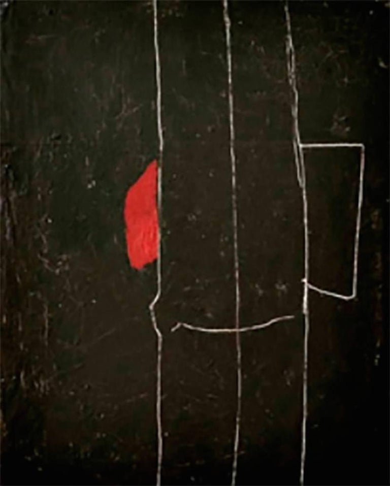 Rick Lewis Abstract Painting - Ole This Way That Way
