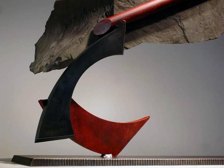 Stormwarning IV - Abstract Sculpture by John Van Alstine