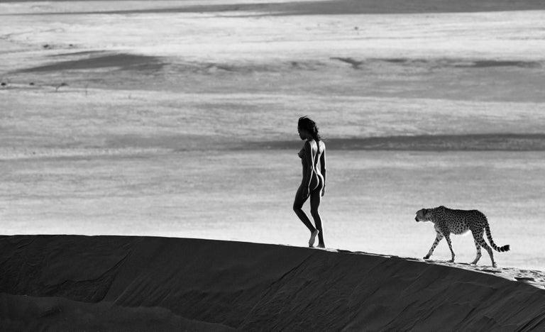 David Yarrow Black and White Photograph - Girls on Film