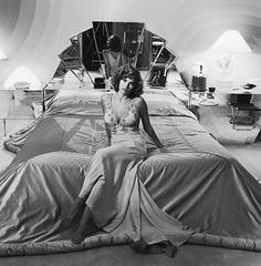Raquel Welch In Her Bedroom