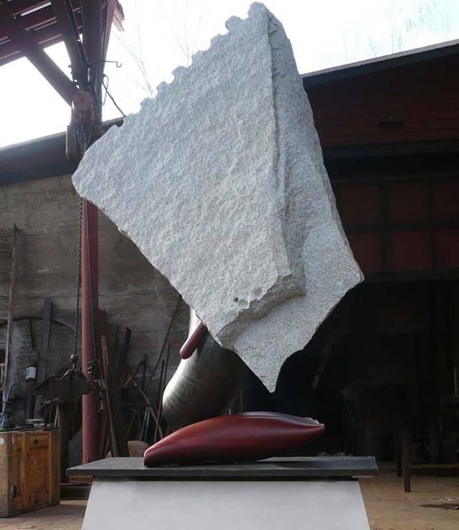 John Van Alstine Abstract Sculpture - Cambre V