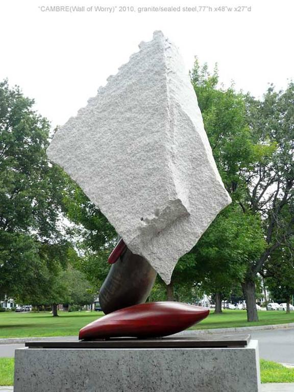 Cambre V - Sculpture by John Van Alstine