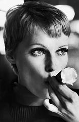 Mia Farrow Ice Cream Cone