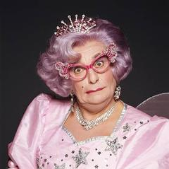 Barry Humphries as Dame Edna Fairy Godmother Costume