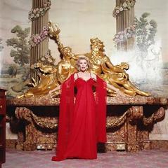 Joan Rivers Red Gown 2
