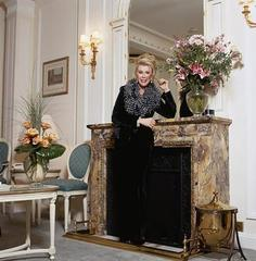 Joan Rivers Fireplace