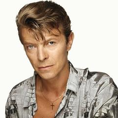 David Bowie Silver Stare 2