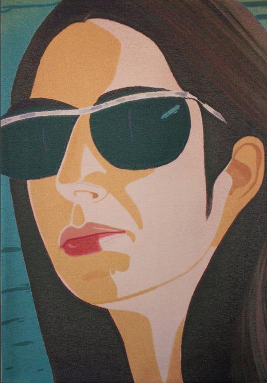 Alex Katz Ada With Sunglasses Print At 1stdibs