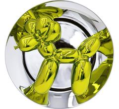 Balloon Dog Plate (Yellow)