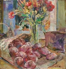 Potatoes and Flowers
