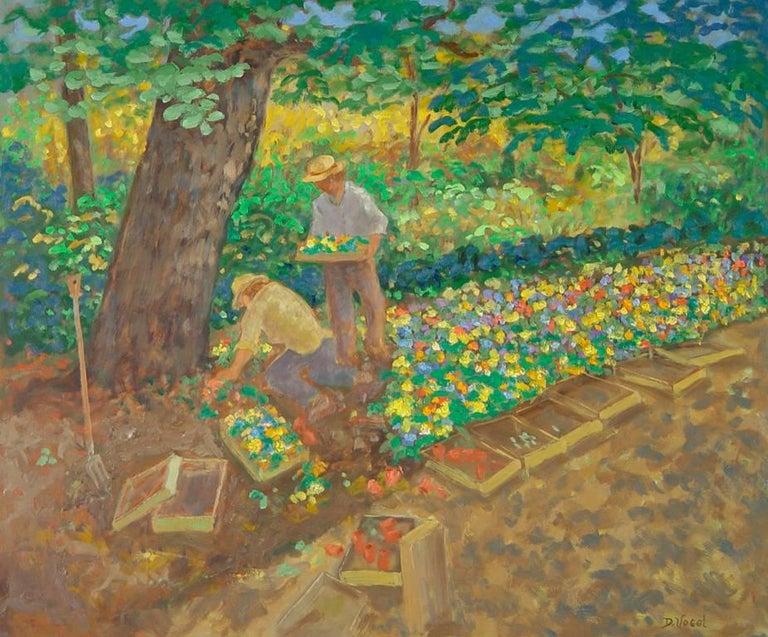 Donald S. Vogel Landscape Painting - New Planting