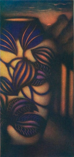 Vase aux orchidées