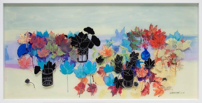Fall - Mixed Media Art by Gail Norfleet