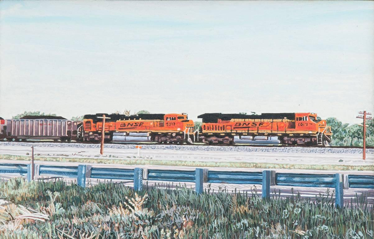Eastbound Freight Train, Colorado; US Highway 50