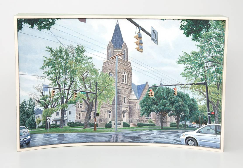 First Presbyterian Church, Hillsboro, Ohio; US Highway 50