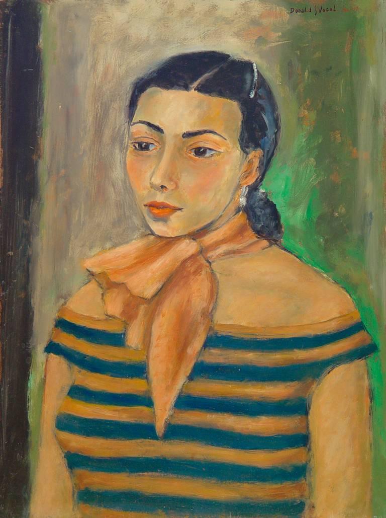 Portrait of Harriet Toby, Ballet Russe de Monte Carlo