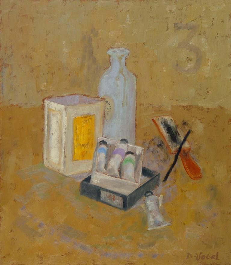 Donald S. Vogel Still-Life Painting - Still Life with Studio Objects III