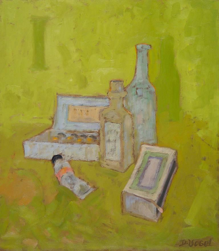 Donald S. Vogel Still-Life Painting - Still Life with Studio Objects I
