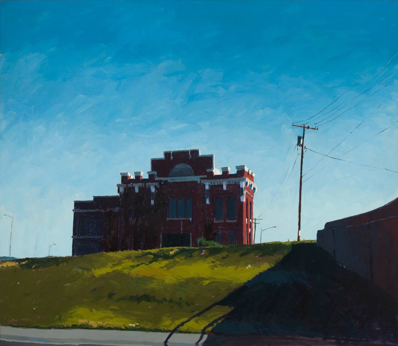 Turtle Creek Pump Station, Dallas, Painting