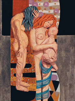 Three Ages of Woman (after Gustav Klimt)