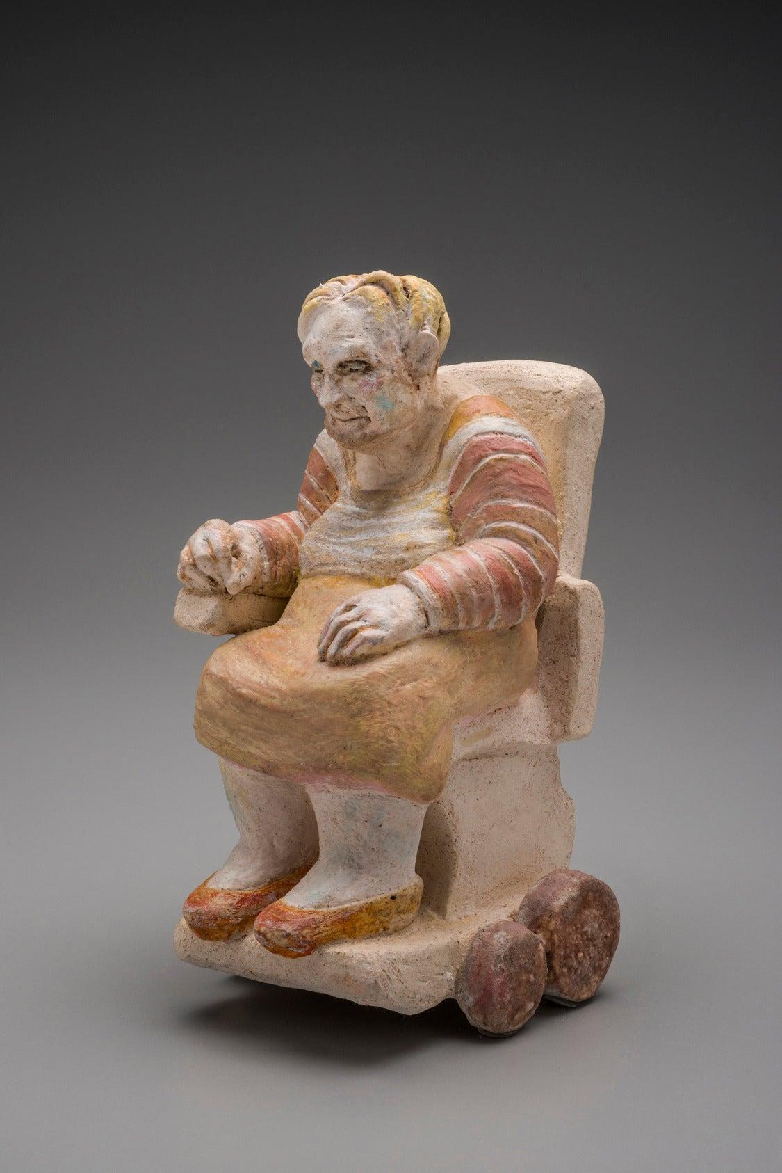 Carol A. Cook Figurative Sculpture - Joyce