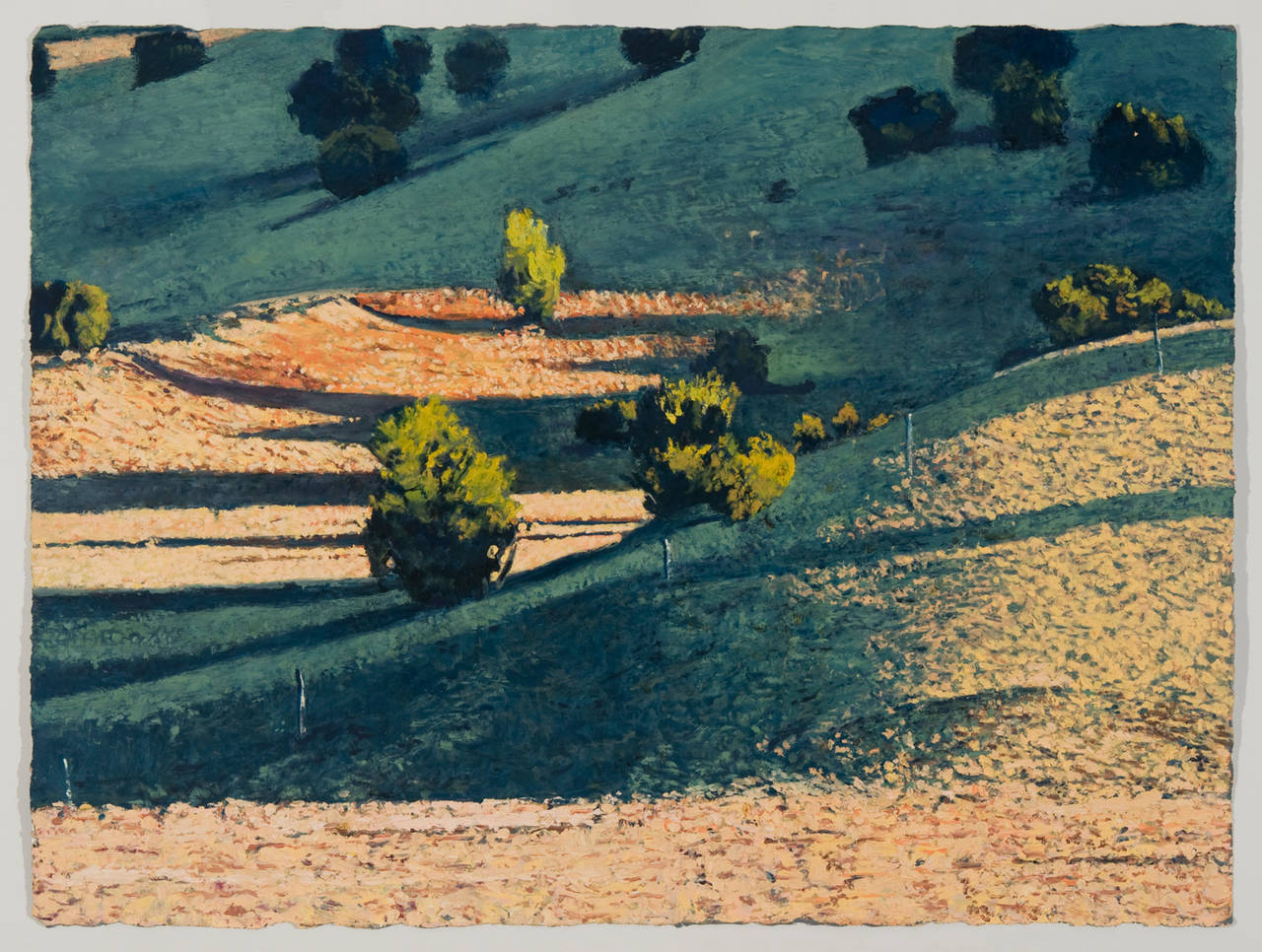 Jim Woodson Landscape Painting - Temporally Compatible Conceptions No. 2