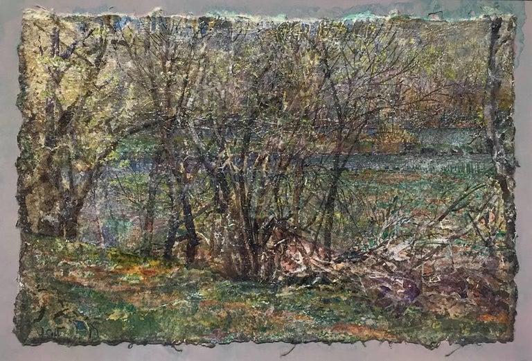 Island Off the Hergotz Place - Academic Art by John Cobb
