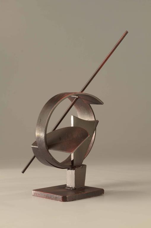 Alex Corno Abstract Sculpture - Compass
