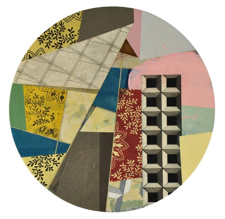 David Collins Abstract Painting - Divisidero