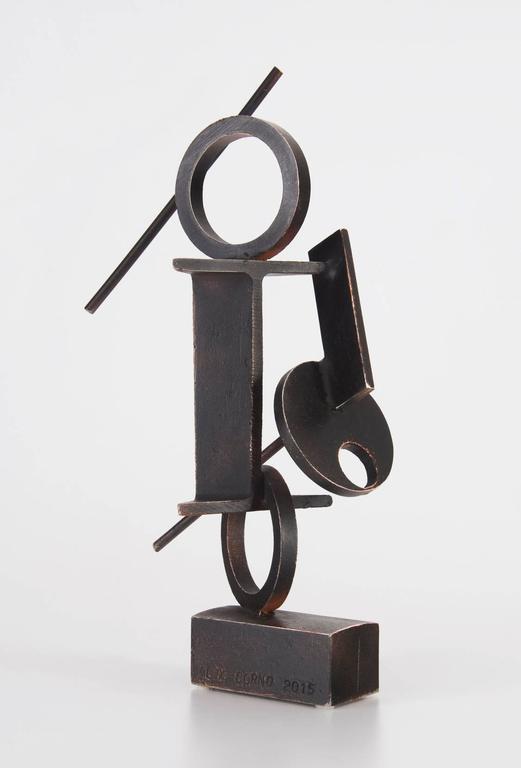 Alex Corno Abstract Sculpture - 3 Cerchi