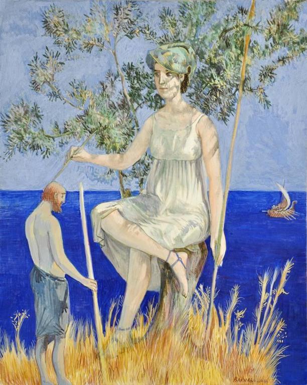 Barnaby Fitzgerald Figurative Painting - Transfiguration