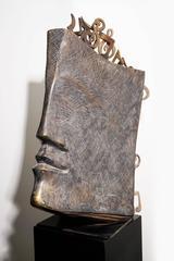 Jacques le Bescond – Music Book – Bronze Sculpture