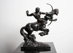 Pierre Traverse – Archer et Centaure - Bronze Sculpture