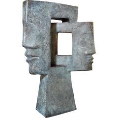 Jacques le Bescond – Contrastes – Bronze Sculpture