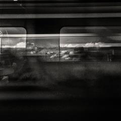 "Deroubaix Jean-François - ""High Speed train cloud"""