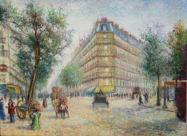 Vue des Grands Boulevards a Paris