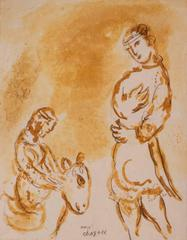 Marc Chagall - Abigaïl, Femme de David