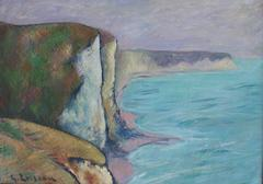 Gustave Loiseau - Les Falaises (Normandie)