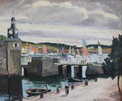 Le Port de Concarneau (Brittany)
