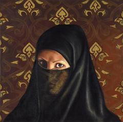 Self-Portrait under a Veil