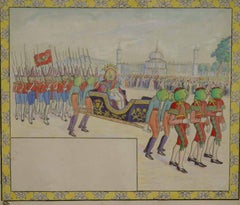 Le Défilé Royal (Illustration to Voyage au Pays des Pommes)