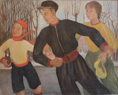 Winter (The Skaters) From the four seasons