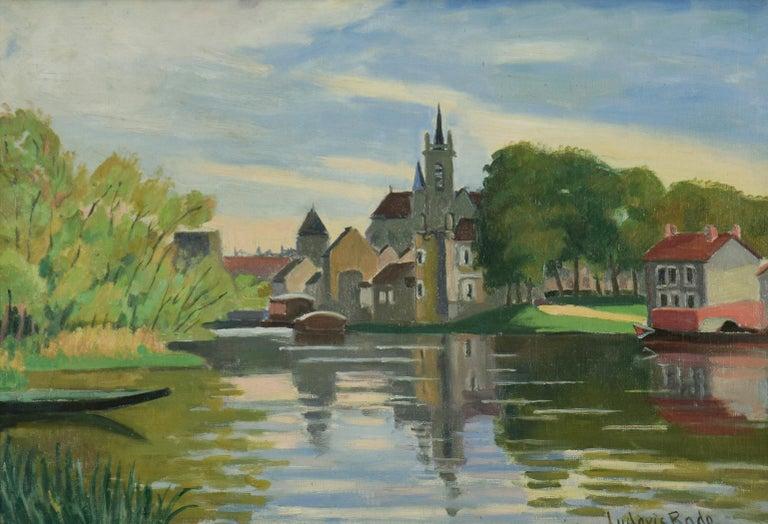 Vue de Moret-sur-Loing